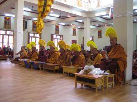 Inauguratie van het klooster, mei 2005