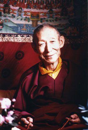 Kyabje Trijang Rinpochee