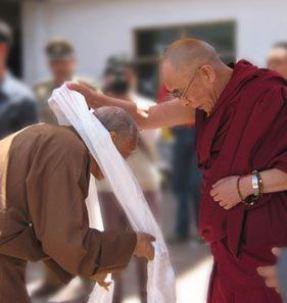 Dagpo Rinpochee en Z.H. de Dalai Lama